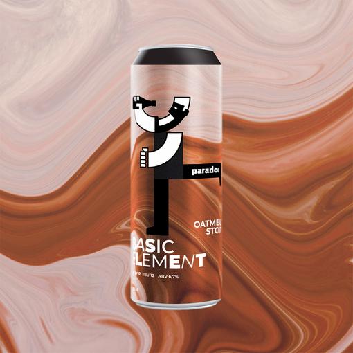 Basic element: Oatmeal stout 20 l